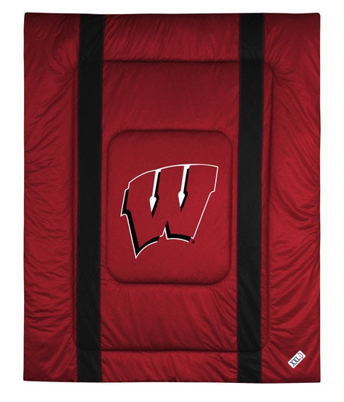 University of Wisconsin Jersey Stripe Comforter