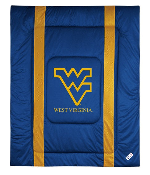 West Virginia University Jersey Stripe Comforter