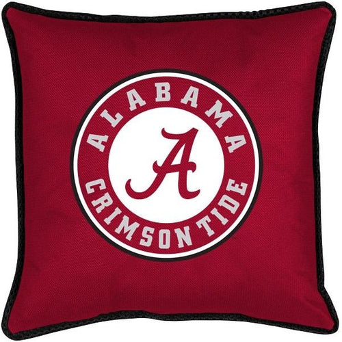 University of Alabama Decorative Jersey Trim Pillow
