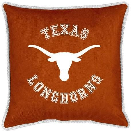 University of Texas Decorative Jersey Trim Pillow