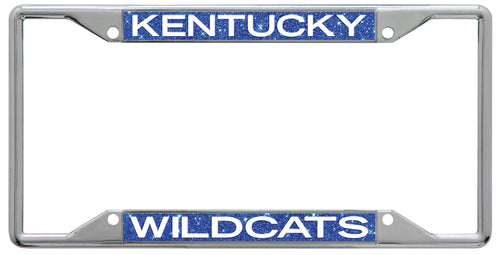 University of Kentucky Glitter License Plate Frame