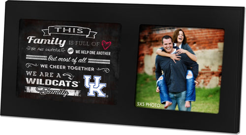 University of Kentucky Family Cheer Black Picture Frame