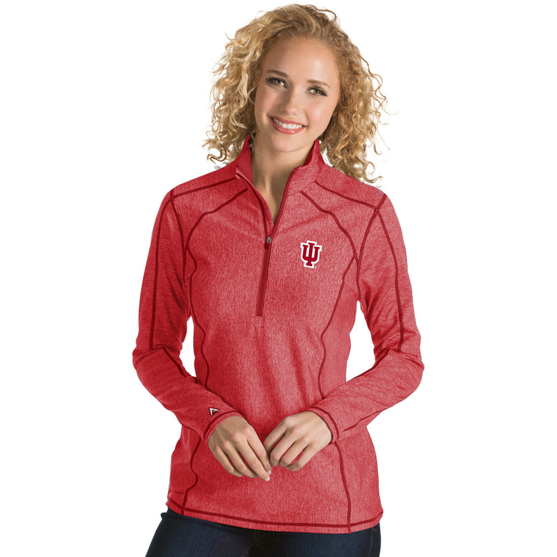 Indiana University Ladies Tempo 1/4 Zip Pullover