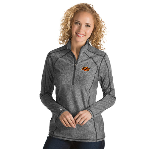 Oklahoma State University Ladies Tempo 1/4 Zip Pullover