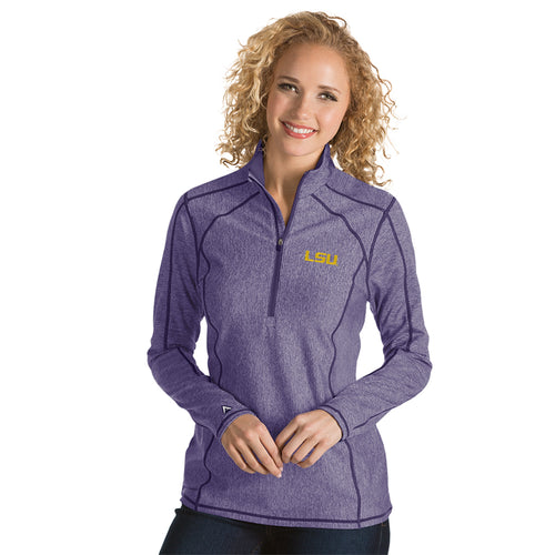 Louisiana State University Ladies Tempo 1/4 Zip Pullover