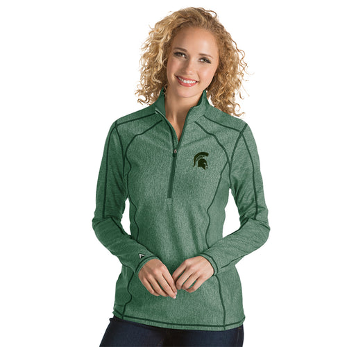 Michigan State University Ladies Tempo 1/4 Zip Pullover