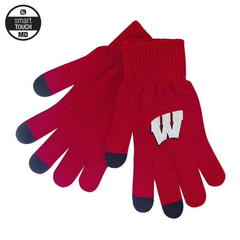 University of Wisconsin Smart-Touch Gloves (Medium)