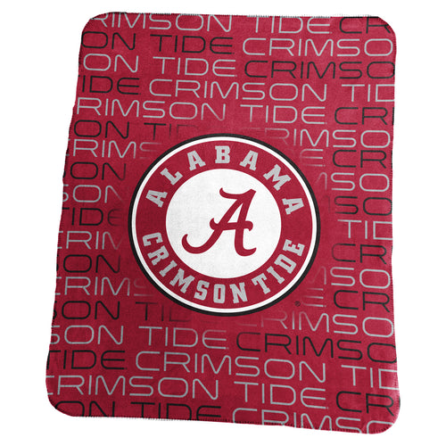 University of Alabama Classic Fleece Lightweight Blanket