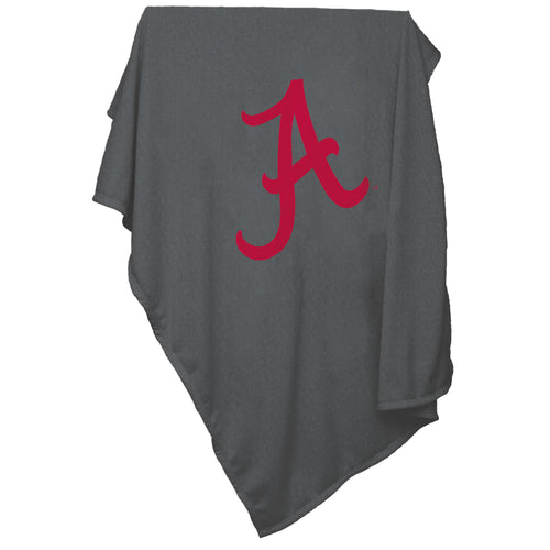University of Alabama Charcoal Sweatshirt Blanket