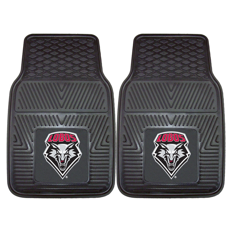 University of New Mexico Heavy Duty Vinyl Car Floor Mats (Set of 2)