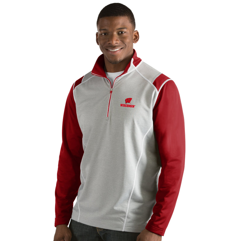 University of Wisconsin Men's Automatic Half Zip Pullover