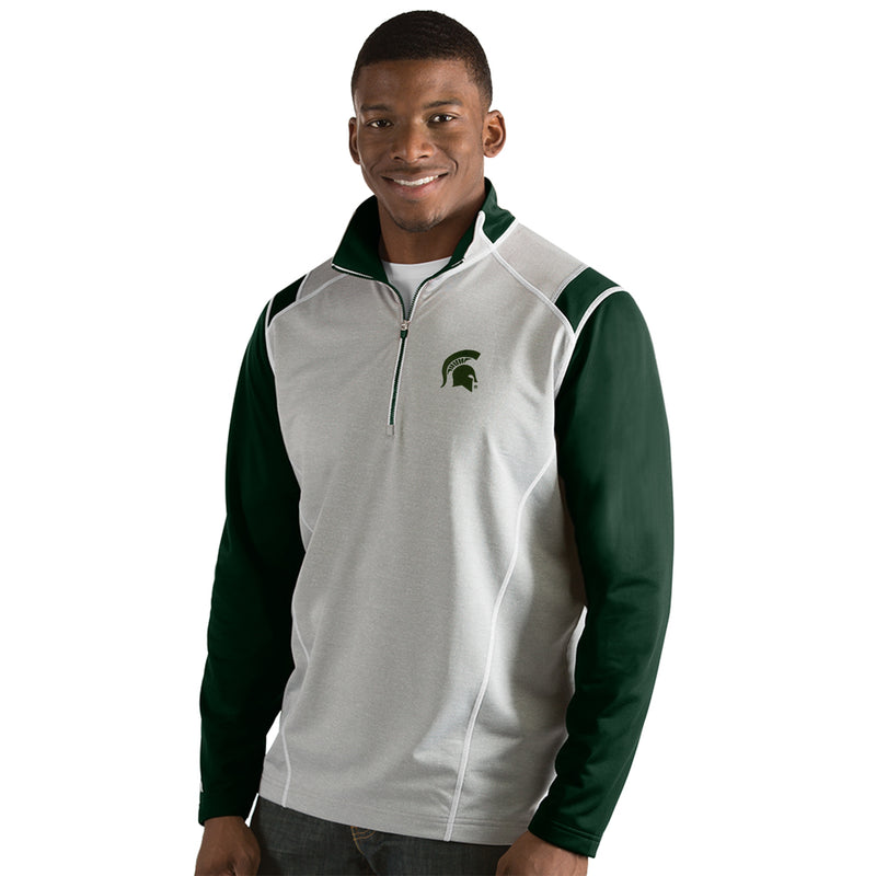 Michigan State University Men's Automatic Half Zip Pullover