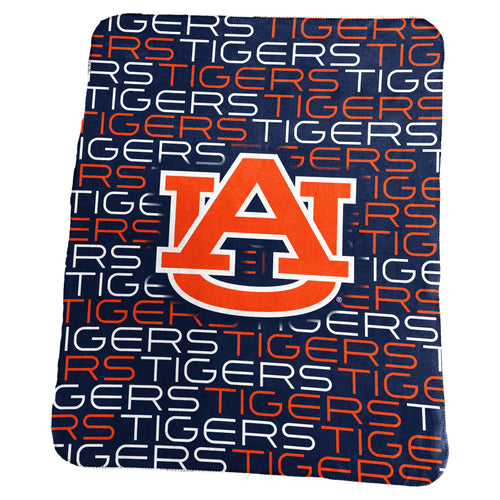 Auburn University Classic Fleece Lightweight Blanket