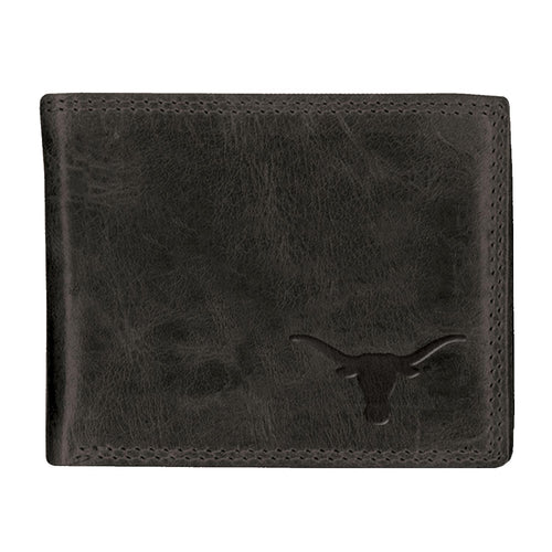 University of Texas Black Westbridge Leather Wallet (Bifold)