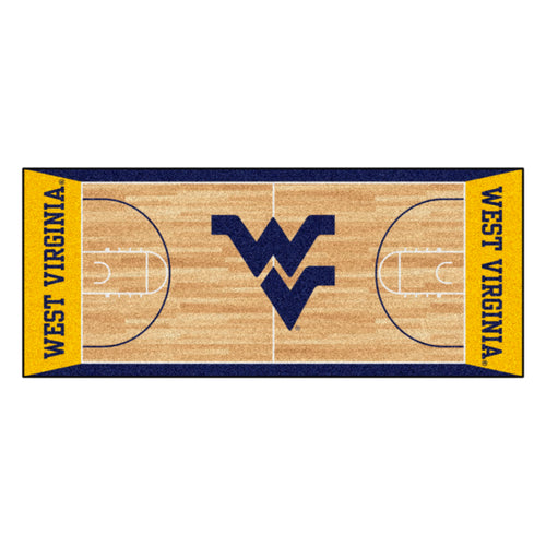 West Virginia University Basketball Court Runner
