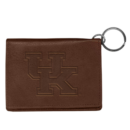 University of Kentucky Leather ID Holder