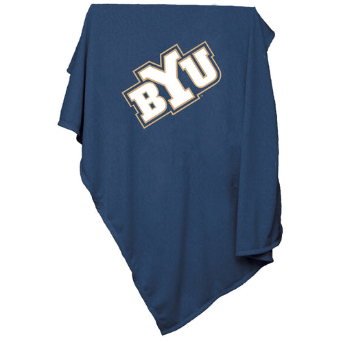 Brigham Young University Sweatshirt Blanket