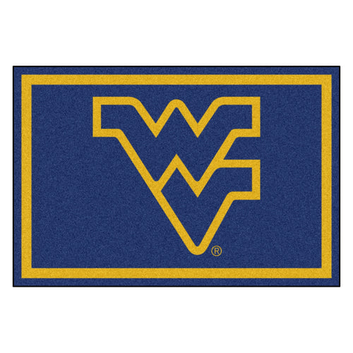 West Virginia University Mascot Area Rug
