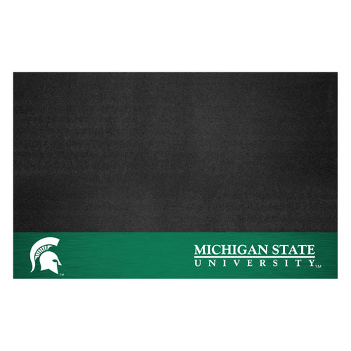 Michigan State University Vinyl Grill Mat