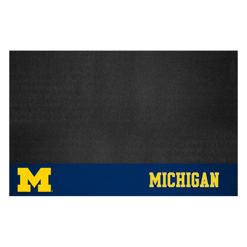 University of Michigan Vinyl Grill Mat