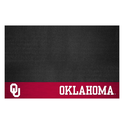 University of Oklahoma Vinyl Grill Mat