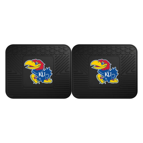 University of Kansas Utility Mat (2 pack)