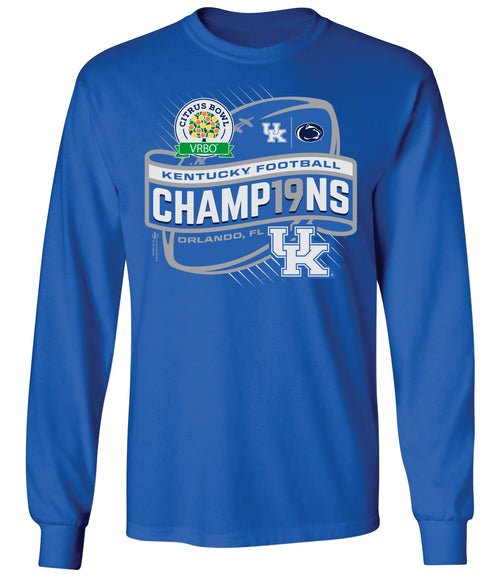 University of Kentucky 2019 Citrus Bowl Champions Long Sleeve T-Shirt