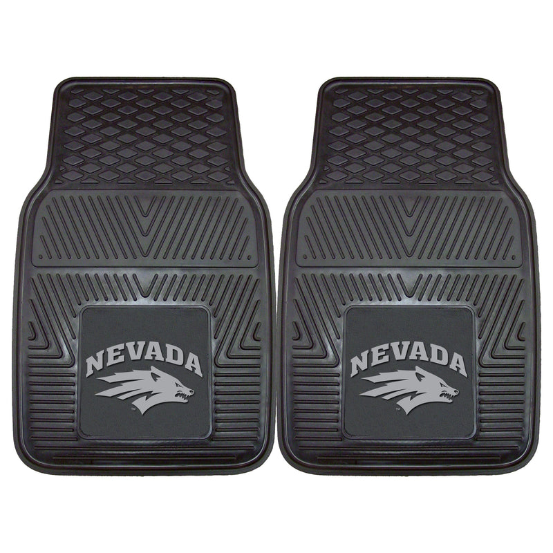University of Nevada Heavy Duty Vinyl Car Floor Mats (Set of 2)