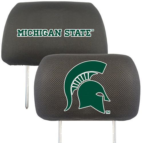 Michigan State University Head Rest Cover (Set of 2)