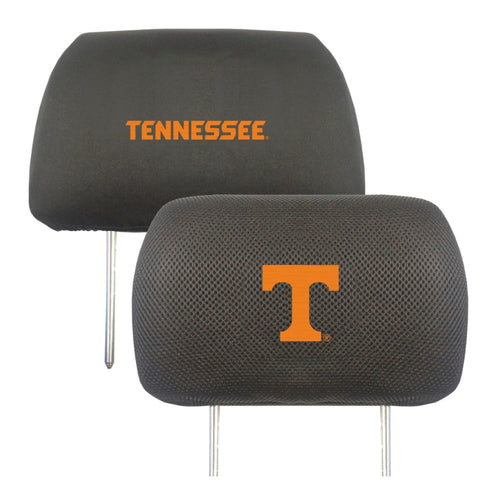 University of Tennessee Head Rest Cover (Set of 2)