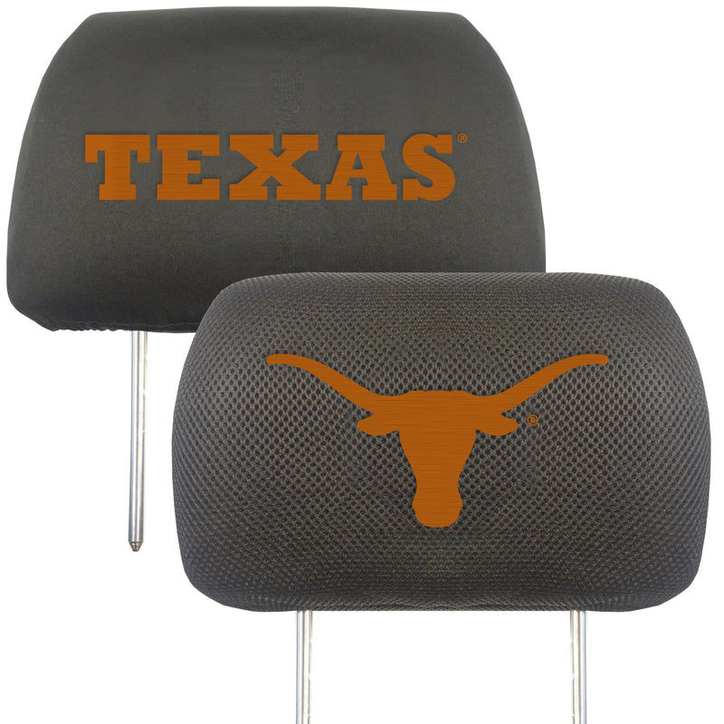 University of Texas Head Rest Cover (Set of 2)