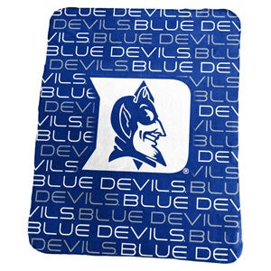 Duke University Classic Fleece Lightweight Blanket