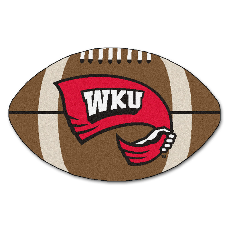Western Kentucky University Football Area Rug
