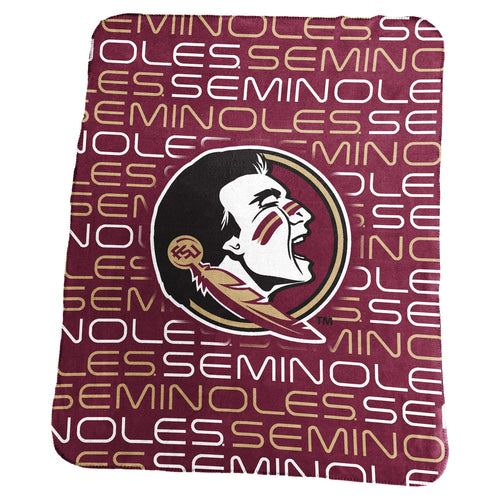 Florida State University Classic Fleece Lightweight Blanket
