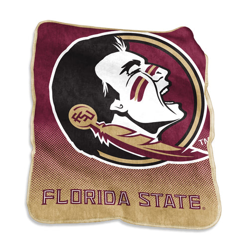 Florida State Seminoles University Raschel Blanket