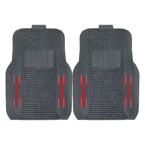 University of Arkansas Deluxe Car Floor Mat (Set of 2)