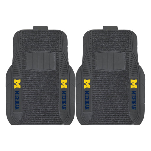 University of Michigan Deluxe Car Floor Mat (Set of 2)