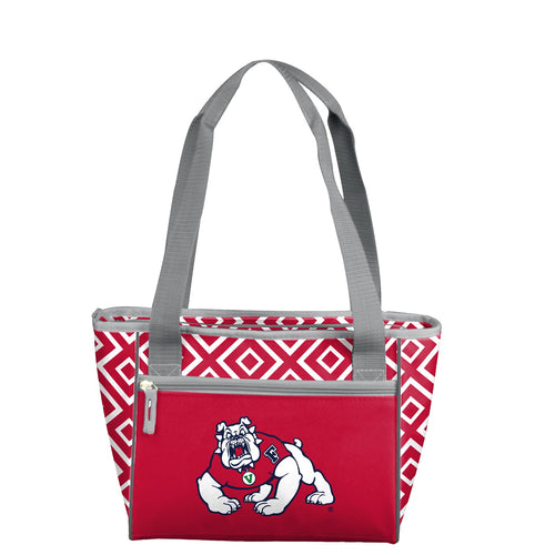 Fresno State University Double Diamond 16 Can Cooler Tote