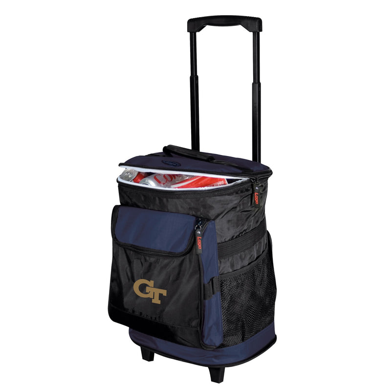 Georgia Tech University Yellow Jackets Rolling Cooler