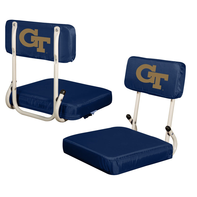 Georgia Tech University Hard Back Stadium Chair