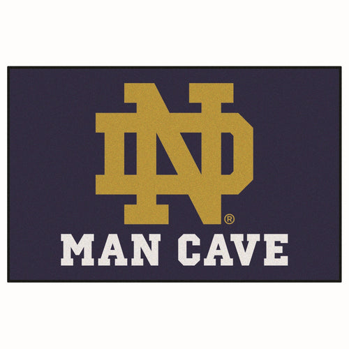 University of Notre Dame Man Cave Area Rug