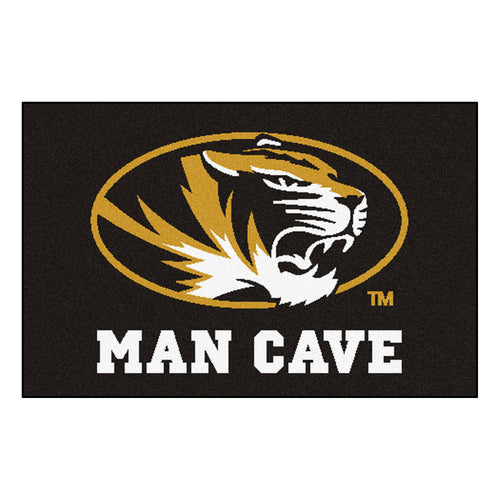 University of Missouri Man Cave Area Rug