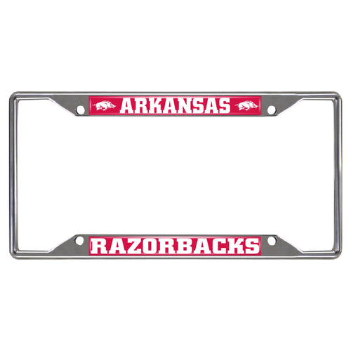University of Arkansas License Plate Frame