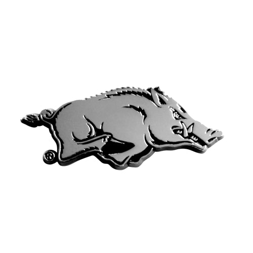 University of Arkansas Chrome Car Emblem