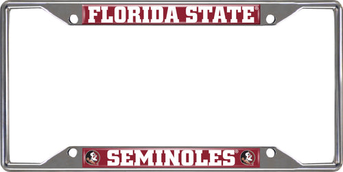 Florida State University License Plate Frame
