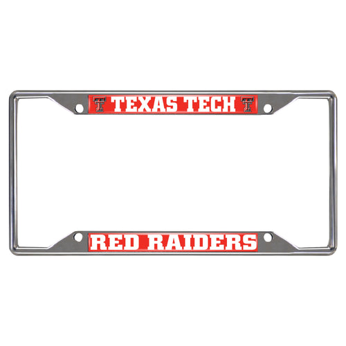 Texas Tech University License Plate Frame