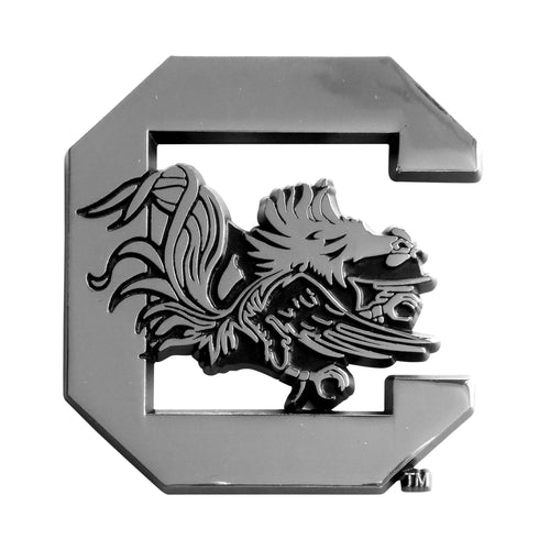 University of South Carolina Chrome Car Emblem