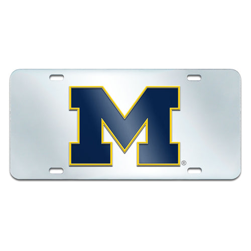 University of Michigan Inlaid License Plate