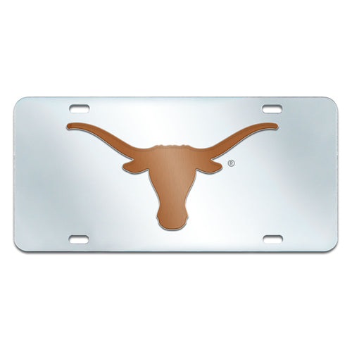 University of Texas Inlaid License Plate