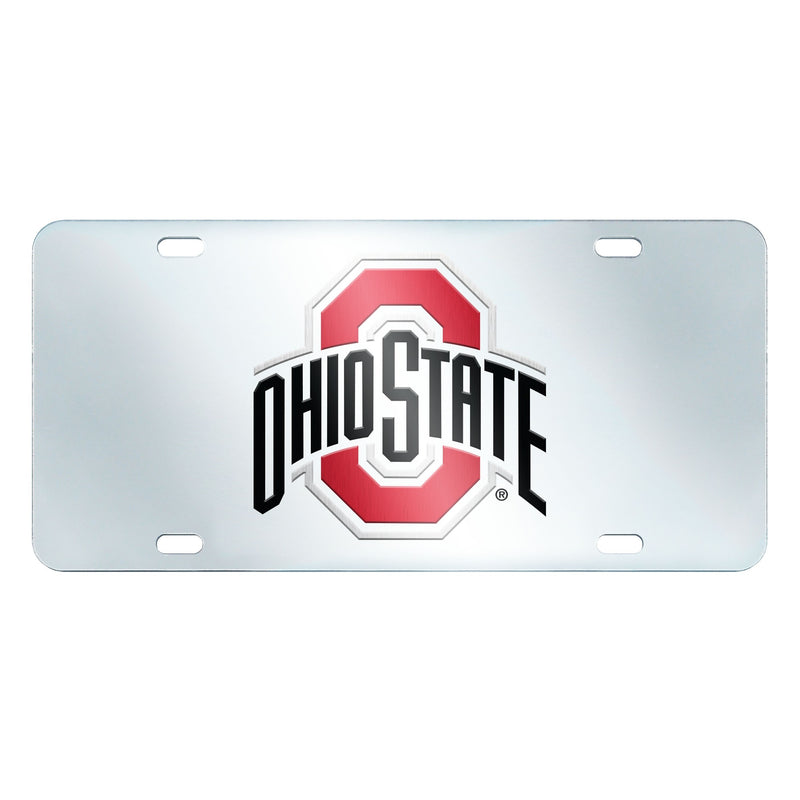 Ohio State University Inlaid License Plate